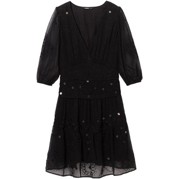 Textiel Dames Korte jurken Desigual 19WWVW32 Zwart