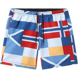 Textiel Heren Zwembroeken/ Zwemshorts Napapijri NP0A4EC8 Blauw