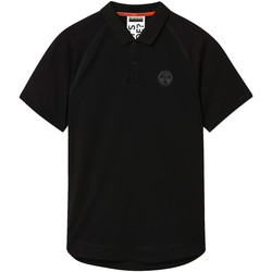 Textiel Heren Polo's korte mouwen Napapijri NP0A4E8Q Zwart
