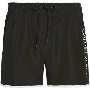Textiel Heren Zwembroeken/ Zwemshorts Calvin Klein Jeans KM0KM00439 Zwart