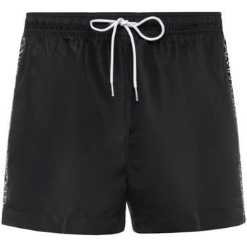 Textiel Heren Korte broeken / Bermuda's Calvin Klein Jeans KM0KM00457 Zwart