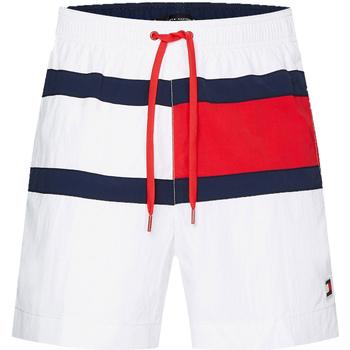 Textiel Heren Zwembroeken/ Zwemshorts Tommy Hilfiger UM0UM01070 Wit