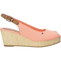 Schoenen Dames Sandalen / Open schoenen Tommy Hilfiger FW0FW04788 Roze