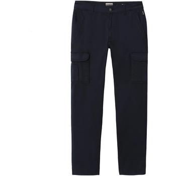 Textiel Heren Cargobroek Napapijri NP0A4E31 Blauw