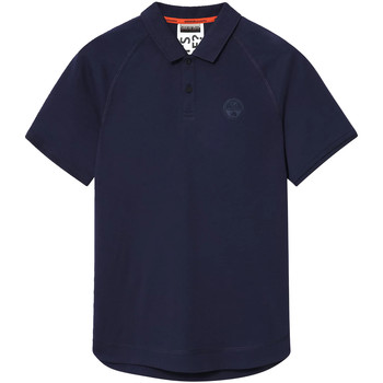 Textiel Heren Polo's korte mouwen Napapijri NP0A4E8Q Blauw