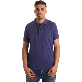 Textiel Heren Polo's korte mouwen U.S Polo Assn. 41029 51244 Blauw