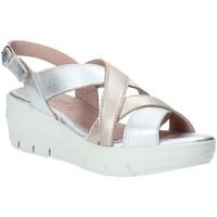 Schoenen Dames Sandalen / Open schoenen Grunland SA1876 Zilver