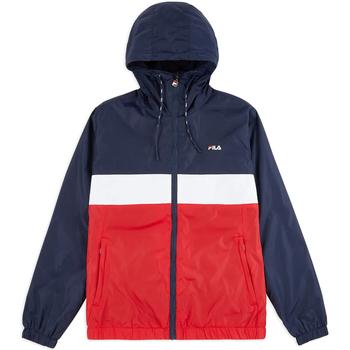 Textiel Heren Windjack Fila 687277 Blauw
