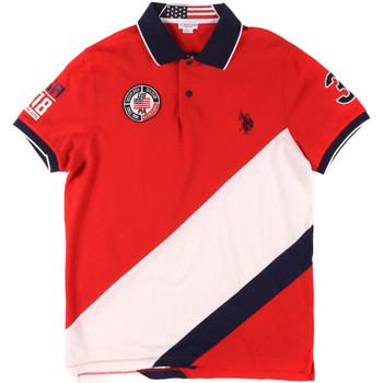 Textiel Heren Polo's korte mouwen U.S Polo Assn. 43771 41029 Rood