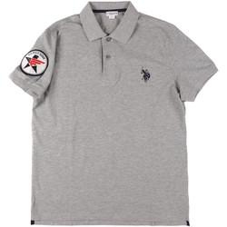 Textiel Heren Polo's korte mouwen U.S Polo Assn. 43767 41029 Grijs