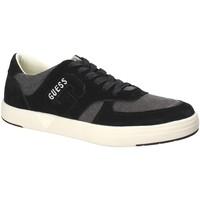 Schoenen Heren Lage sneakers Guess FMDER1 LEA12 Zwart