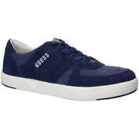 Schoenen Heren Lage sneakers Guess FMDER1 LEA12 Blauw