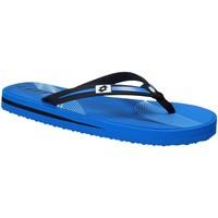 Schoenen Heren Teenslippers Lotto T4761 Blauw