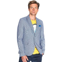 Textiel Heren Jasjes / Blazers Gaudi 811FU35035 Blauw