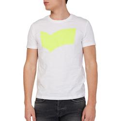 Textiel Heren T-shirts korte mouwen Gas 542973 Wit