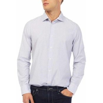 Textiel Heren Overhemden lange mouwen Gas 151144 Blauw
