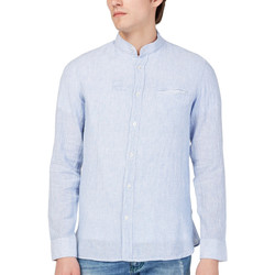 Textiel Heren Overhemden lange mouwen Gas 151228 Blauw