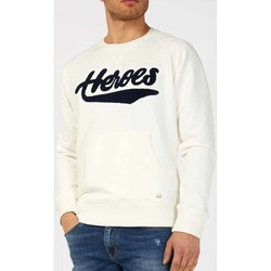 Textiel Heren Sweaters / Sweatshirts Gas 552303 Wit