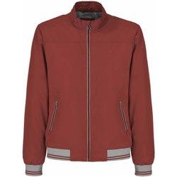 Textiel Heren Wind jackets Geox M8221U T2414 Rood