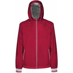 Textiel Heren Wind jackets Geox M8221T T2414 Rood