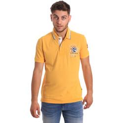 Textiel Heren Polo's korte mouwen Napapijri N0YHDW Geel