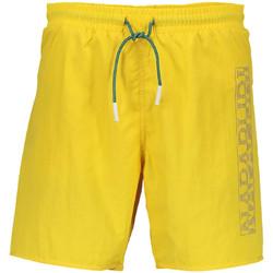 Textiel Heren Zwembroeken/ Zwemshorts Napapijri N0YHST Geel