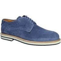 Schoenen Heren Derby Exton 671 Blauw
