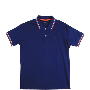 Textiel Heren Polo's korte mouwen Key Up 2Q70G 0001 Blauw