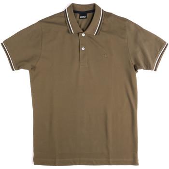Textiel Heren Polo's korte mouwen Key Up 2Q70G 0001 Groen