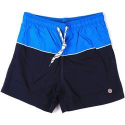 Textiel Heren Zwembroeken/ Zwemshorts Key Up 2H19X 0001 Blauw