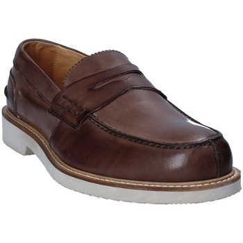 Schoenen Heren Mocassins Exton 9102 Bruin