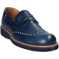 Schoenen Heren Mocassins Exton 885 Blauw