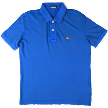 Textiel Heren Polo's korte mouwen Napapijri N0YHDX Blauw