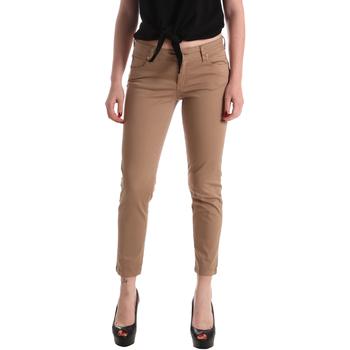 Textiel Dames 5 zakken broeken Gaudi 911BD25011 Bruin