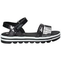 Schoenen Meisjes Sandalen / Open schoenen Melania ME6087F8E.A Zwart