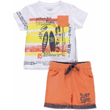 Textiel Kinderen Setjes Losan 815-8027AC Grijs