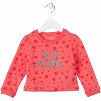 Textiel Kinderen Sweaters / Sweatshirts Losan 816-6023AD Roze