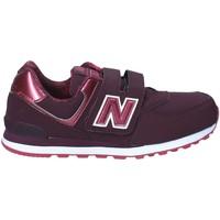 Schoenen Kinderen Lage sneakers New Balance NBKV574F2Y Rood