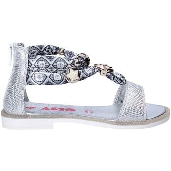 Schoenen Meisjes Sandalen / Open schoenen Asso 64075 Grijs