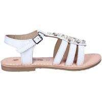 Schoenen Meisjes Sandalen / Open schoenen Asso 65952 Wit