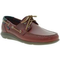 Schoenen Heren Bootschoenen CallagHan 14400 Rood