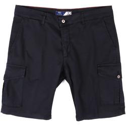 Textiel Heren Korte broeken / Bermuda's Sei3sei PZV130 81408 Blauw