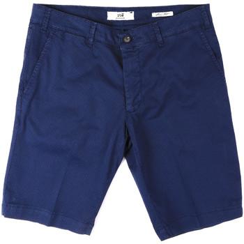 Textiel Heren Korte broeken / Bermuda's Sei3sei PZV132 8136 Blauw