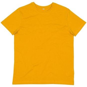 Textiel Heren T-shirts korte mouwen Mantis M01 Mosterd