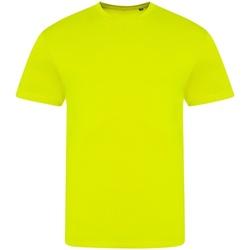 Textiel T-shirts korte mouwen Awdis JT004 Elektrisch Geel