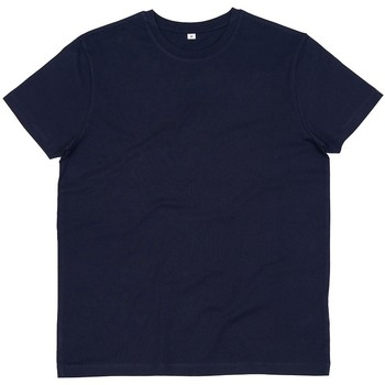 Textiel Heren T-shirts korte mouwen Mantis M01 Marine