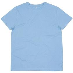 Textiel Heren T-shirts korte mouwen Mantis M01 Hemelsblauw