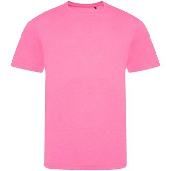 Textiel T-shirts korte mouwen Awdis JT004 Elektrisch Roze