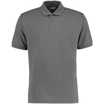 Textiel Heren Polo's korte mouwen Kustom Kit KK422 Donkergrijs mergel