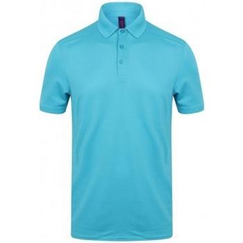 Textiel Heren Polo's korte mouwen Henbury HB460 Turquoise